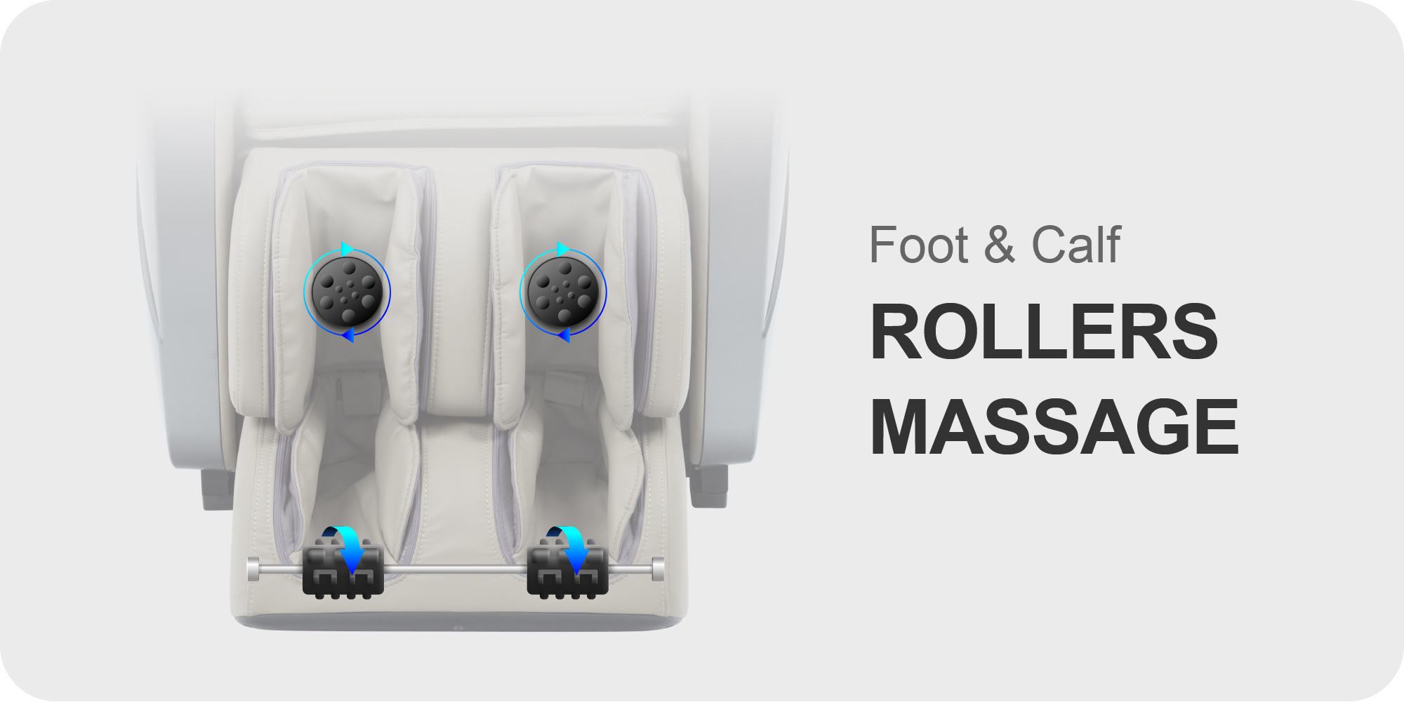 Foot & Calf Rollers Massage
