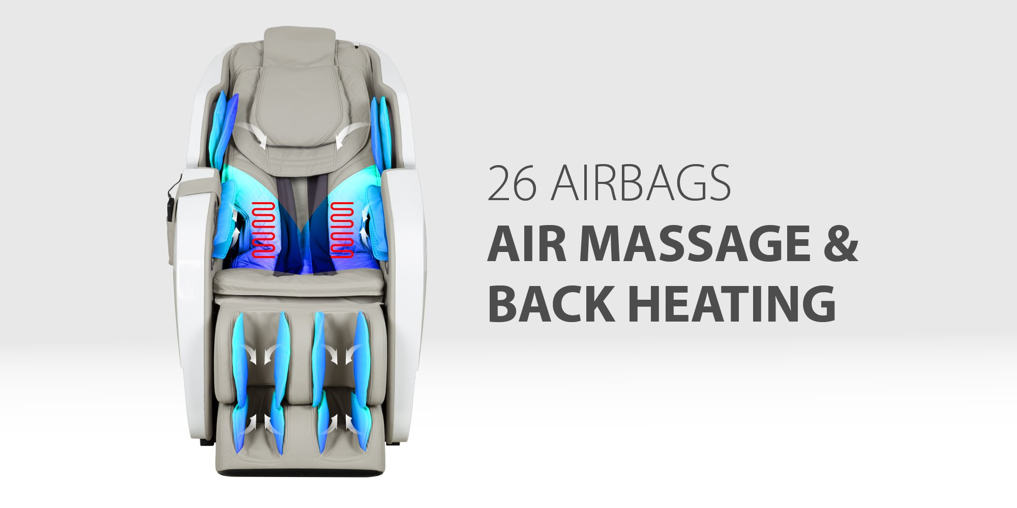26 airbags air pressure massage